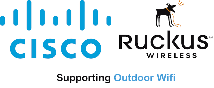 Cisco & Ruckus Logos